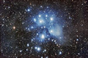 """Ammasso Stellare e Nebulosità """"Le Pleiadi"""" M45"""
