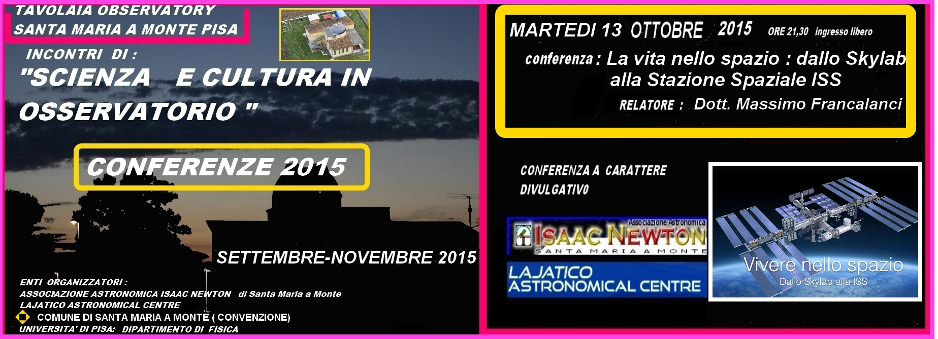 locandina_Facebook_ FRANCALANCI _13_0TTOBRE