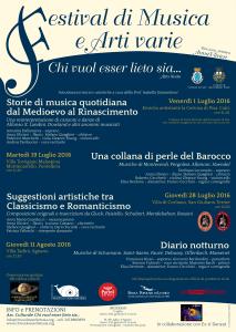 locandina Festival 2016
