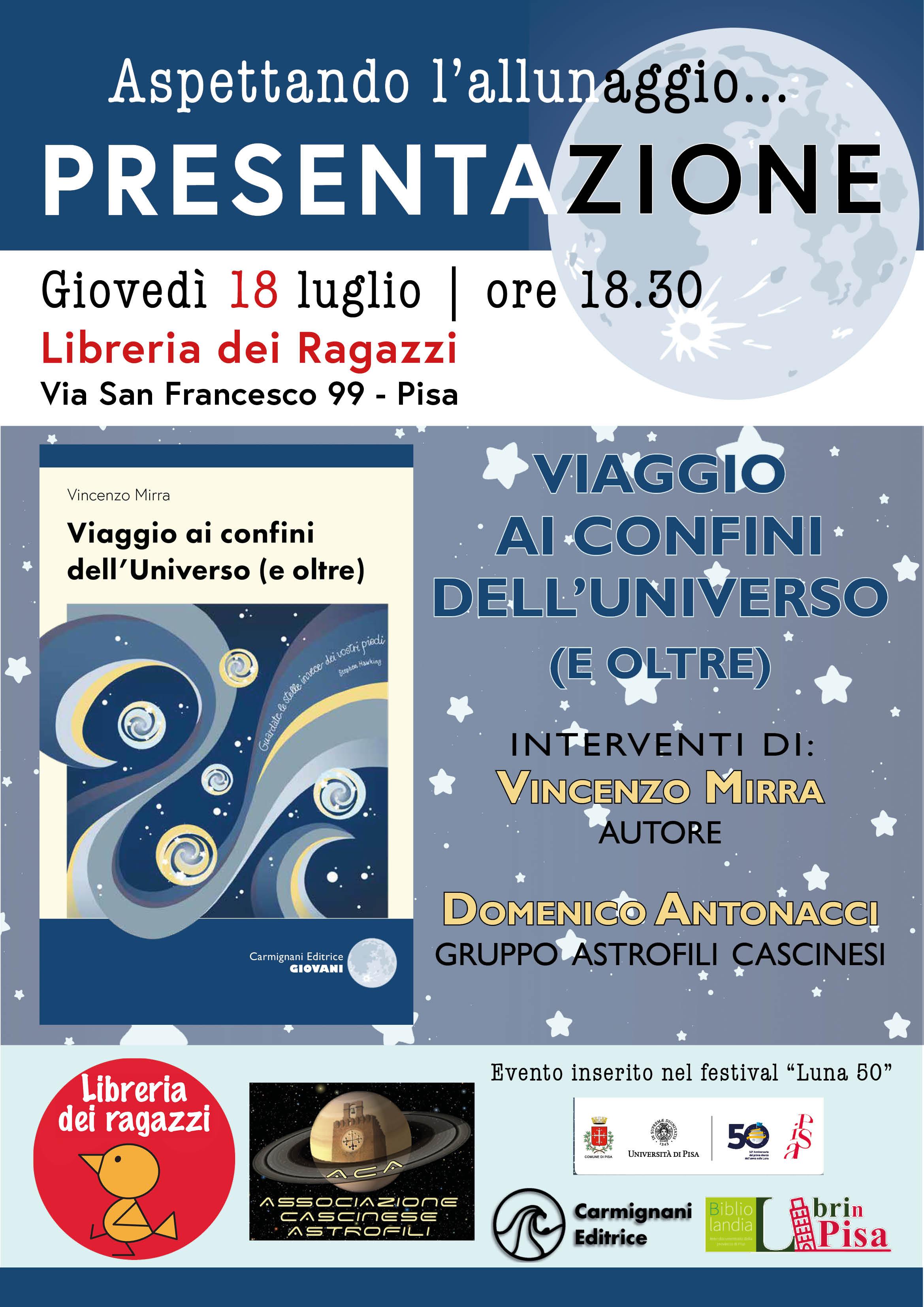 Calendario Unipi.Associazione Astrofili Cascinesi