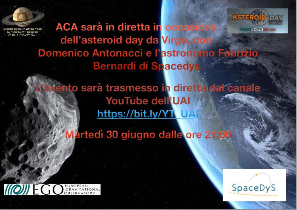 Locandina Asteroid Day 2020