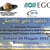 """Torna """"Stelle per tutti"""", la giornata nazionale della divulgazione inclusiva dell'astronomia"""