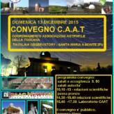 Convegno CAAT del 13 Dicembre 2015 a Santa Maria a Monte